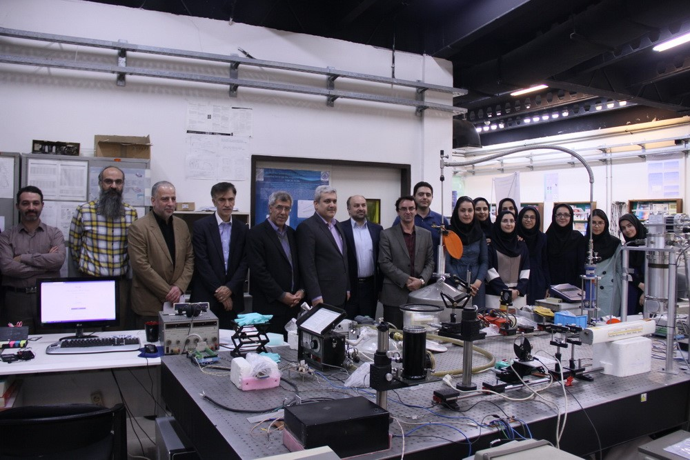 Visit of Dr. Sattari (Vice President for Science and Technology)